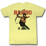 Rambow Yellow Heather Adult T-Shirt