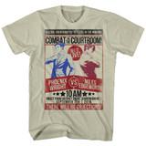 Ace Attorney Fight Khaki Heather Adult T-Shirt