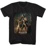 Assassin's Creed Barrel O' Fun Black Adult T-Shirt