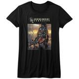 Bionic Commando The World Burn Black Junior Women's T-Shirt