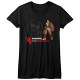 Bionic Commando Rearmed Black Junior Women's T-Shirt