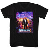 Dead Rising Purple Action Black Adult T-Shirt