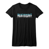Dead Rising Logo Black Junior Women's T-Shirt