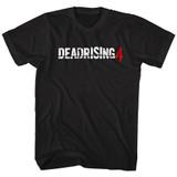 Dead Rising Dead Rising 4 Logo Black Adult T-Shirt