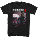 Dead Rising Batmas Dead Rising 4 Black Adult T-Shirt