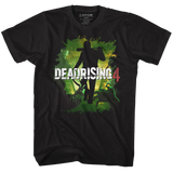 Dead Rising Dead 4 Black Adult T-Shirt