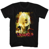Devil May Cry Grunge Stare Black Adult T-Shirt
