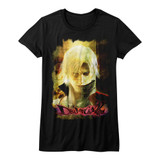 Devil May Cry Grunge Stare Black Junior Women's T-Shirt