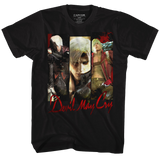 Devil May Cry Trio Black Adult T-Shirt
