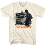 The Division Natural Adult T-Shirt