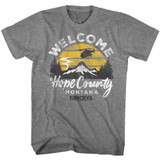 Far Cry Hope County Graphite Heather Adult T-Shirt