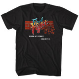 Final Fight Arcade Black Adult T-Shirt