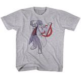 Mega Man Dr. Willy Gray Heather Toddler T-Shirt