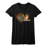 Monster Hunter Monster Hunter 4 Ultimate Black Junior Women's T-Shirt