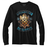 Monster Hunter Black Adult Long Sleeve T-Shirt