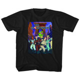 The Real Ghostbusters Poster Ish Black Children's T-Shirt
