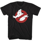 The Real Ghostbusters Symbol Black T-Shirt