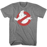 The Real Ghostbusters Symbol Graphite Heather T-Shirt