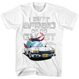 The Real Ghostbusters Aintafraid White T-Shirt