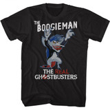 The Real Ghostbusters The Boogieman Black T-Shirt