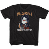The Real Ghostbusters Mr. Sandman Black Children's T-Shirt