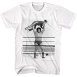 Andre The Giant Lightweight White Adult T-Shirt