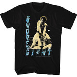 Andre The Giant 80's Dre Black Adult T-Shirt