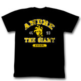 Andre The Giant Hand Black Adult T-Shirt