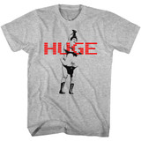 Andre The Giant Huge Gray Heather Adult T-Shirt