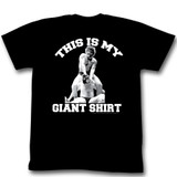 Andre The Giant Death Black Adult T-Shirt
