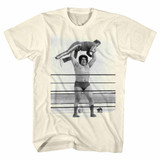 Andre The Giant Lightweight Natural Adult T-Shirt