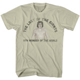 Andre The Giant Last One Natural Adult T-Shirt