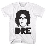 Andre The Giant Big Dre White Adult T-Shirt