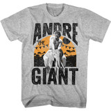 Andre The Giant Elephant Ride Gray Heather Adult T-Shirt