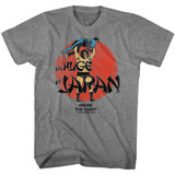 Andre The Giant Huge Graphite Heather Adult T-Shirt