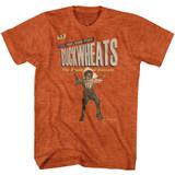 Buckwheat Buckwheats Antique Orange Heather Adult T-Shirt