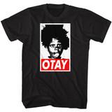 Buckwheat Otay Black Adult T-Shirt
