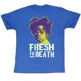 Buckwheat Fresh To Death Royal Heather Adult T-Shirt