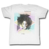 Buckwheat Abstract White Adult T-Shirt