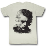 James Dean Everything Fades Natural Adult T-Shirt