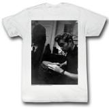 James Dean Bongo Bongo White Adult T-Shirt
