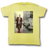 James Dean Dream Yellow Heather Adult T-Shirt