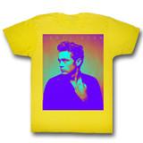 James Dean Color Yellow Adult T-Shirt