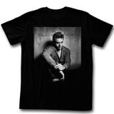 James Dean He's Dark N Stuff Black Adult T-Shirt