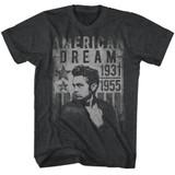 James Dean Dream Black Heather Adult T-Shirt
