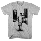 James Dean Street Walker Graphite Heather Adult T-Shirt