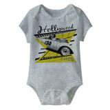 James Dean Cali '55 Gray Heather Baby Onesie T-Shirt