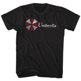 Resident Evil Umbrella Black T-Shirt