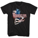 Resident Evil Residentevil 2 Black T-Shirt