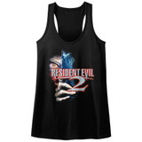 Resident Evil Residentevil 2 Black Junior Women's Racerback Tank Top